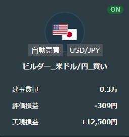 21年5月米ドル円の買いループイフダン取引結果